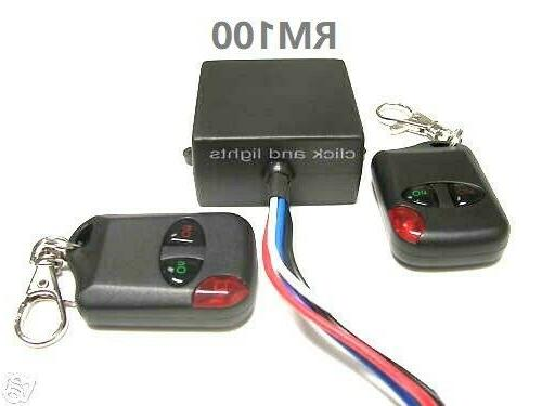 MSD 12V 15A on - off remote control wireless 12V output rela