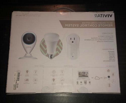 Vivitar Wi-Fi Automation Starter Camera, Bulb