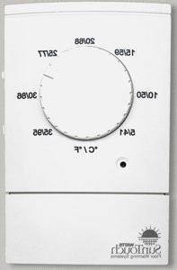 SunTouch Dial Non Programmable Floor Heat Thermostat 120240