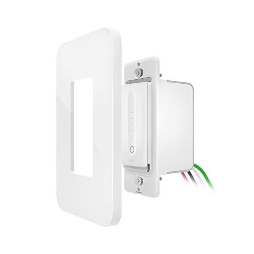 Wemo Dimmer Wi-Fi Switch, and Google