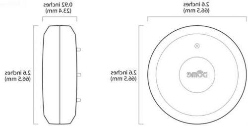 Elexa Wireless Z-Wave Remote Probe Resistant