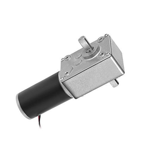 double shaft worm gear motor