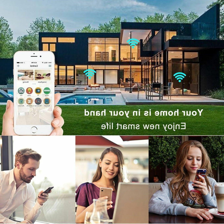 1x Nexete Smart Wifi Mini Outlet Work With Alexa/Google Home /IFTTT