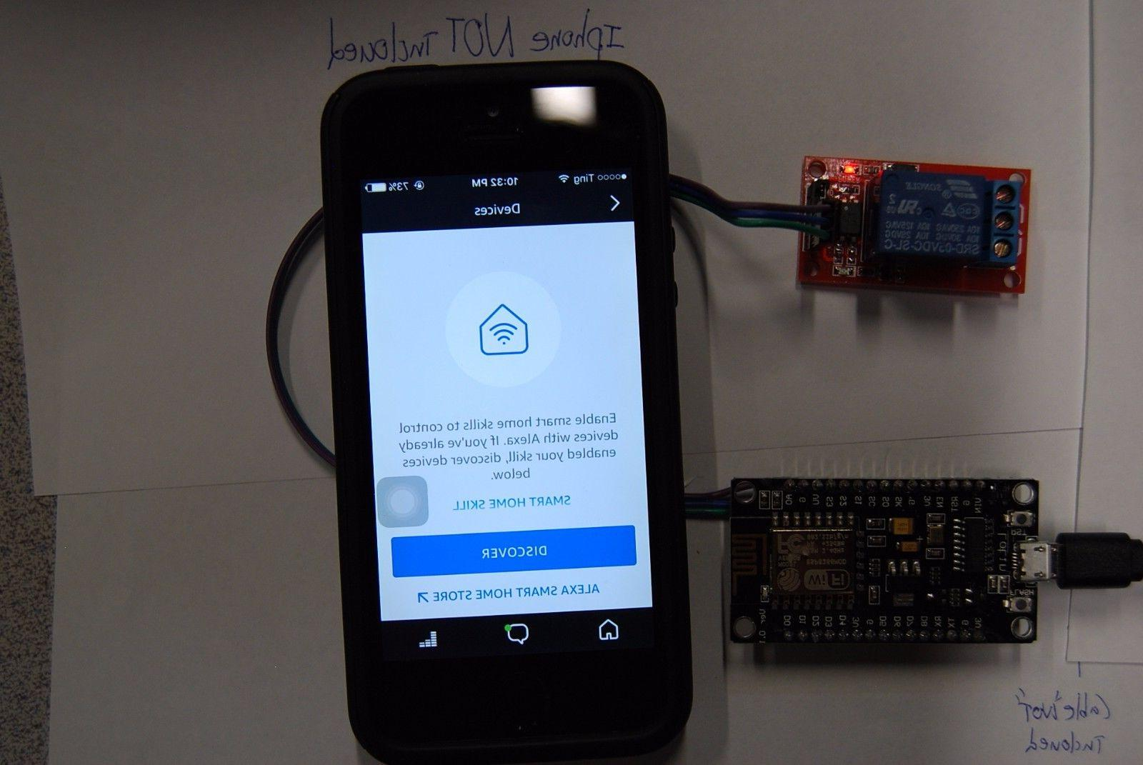 """Alexa Amazon Echo """" Momentary Relay - Turn ON seconds and OFF"""