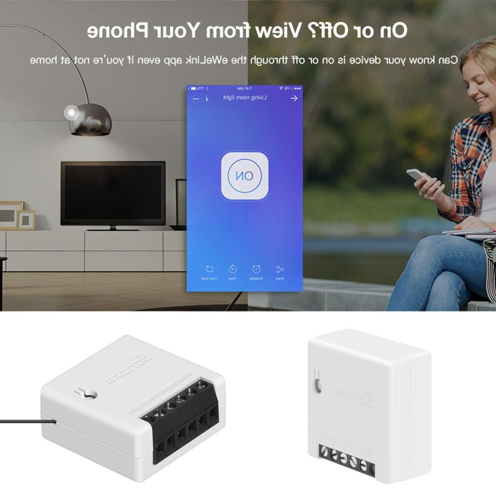 <font><b>SONOFF</b></font> Mini Intelligent DIY <font><b>Automation</b></font> Control Switches for Google WiFi Smart