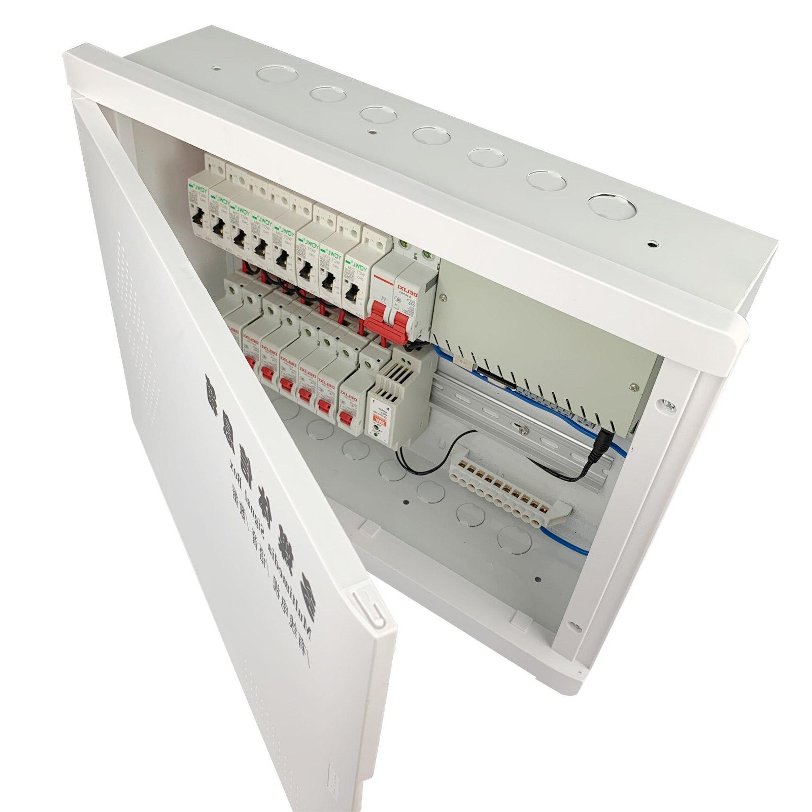 <font><b>Electric</b></font> Power Distribution Rack Smart System Module