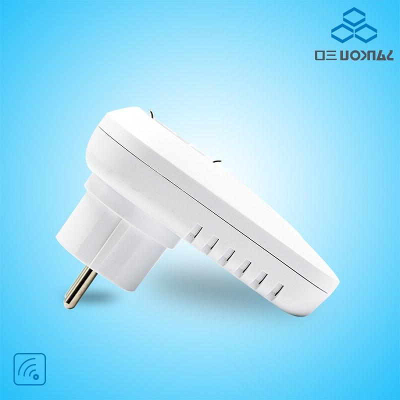 <font><b>White</b></font> Smart Plug Socket EU Style Wall Plug <font><b>Home</b></font> <font><b>Automation</b></font> Wireless App Control