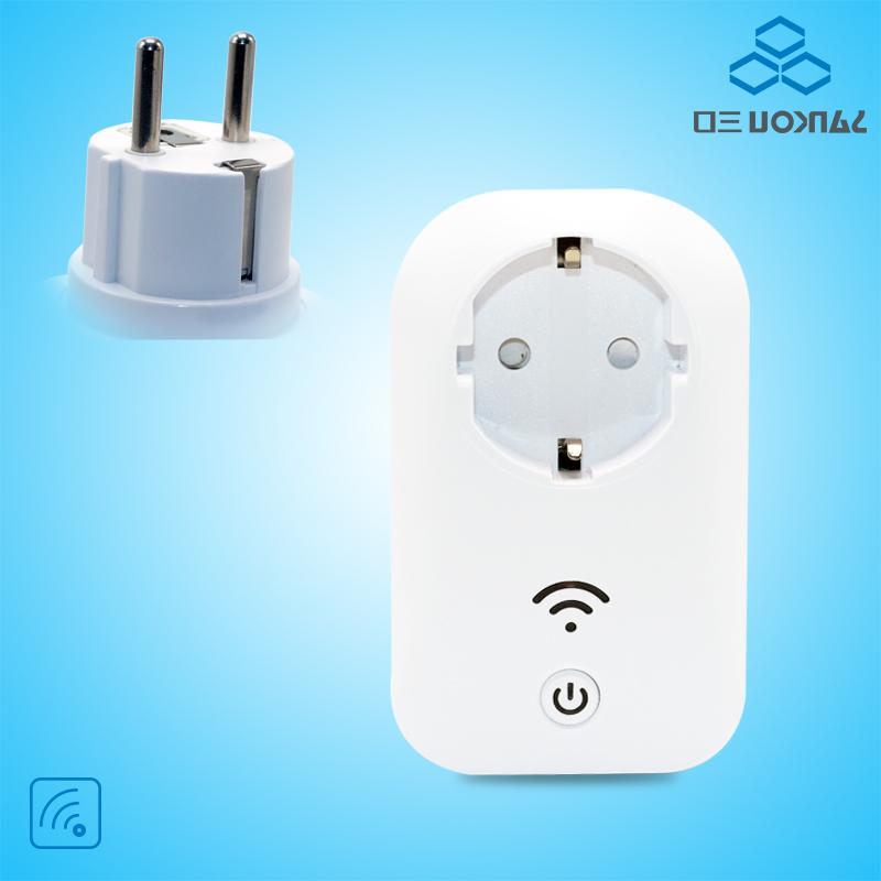<font><b>White</b></font> Smart Power Socket Style Wall <font><b>Home</b></font> Control