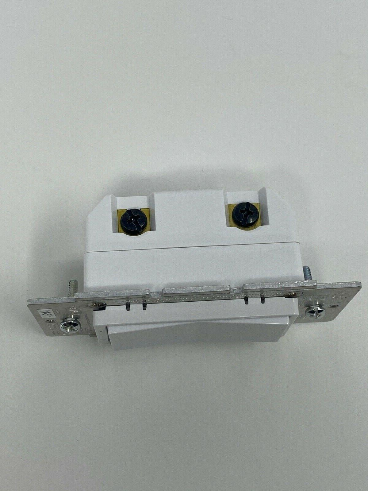GE Zigbee In-Wall Smart Dimmer 3-Way/4-Way White/Almond LED Rocker Light