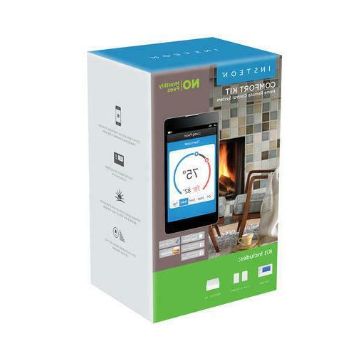 Home Kit Light Thermostat Phone Tablet