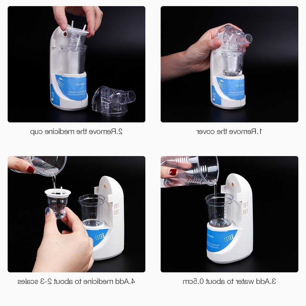 and Portable Inhalers Mist Plug