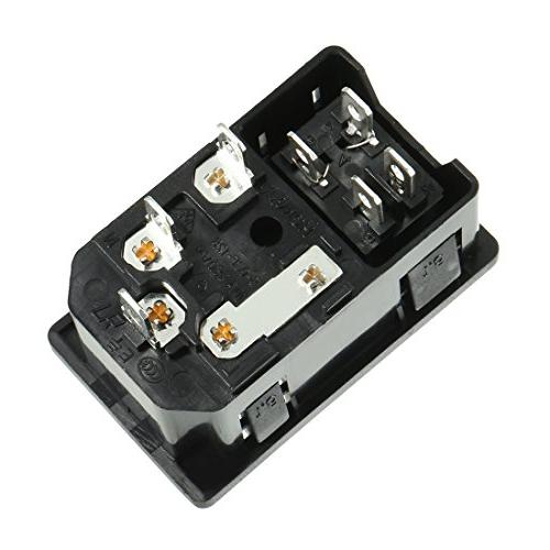 uxcell Rocker IEC Supply Light +