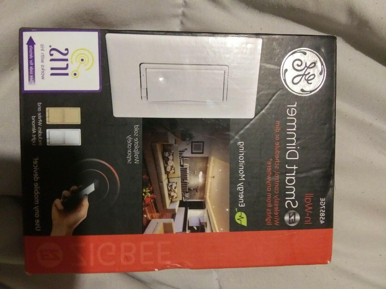 in wall ez smart dimmer energy monitoring