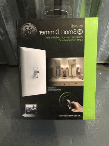 in wall ez smart dimmer switch zw3004