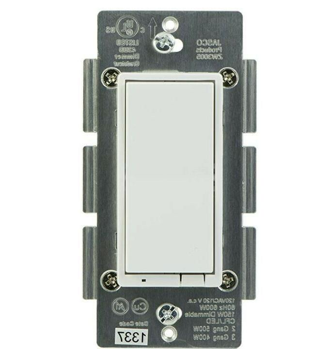 in wall smart dimmer 45712 white