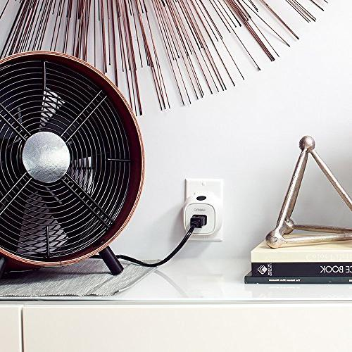 Wemo Insight with Energy WiFi Enabled, Your and From Anywhere, Compatible with