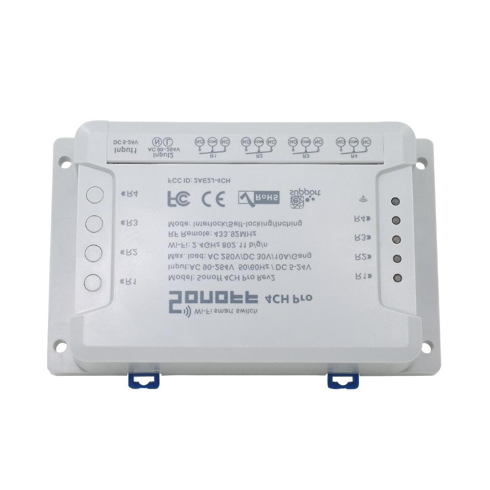 ITEAD 4CH Din Wireless Control Smart 433Mhz