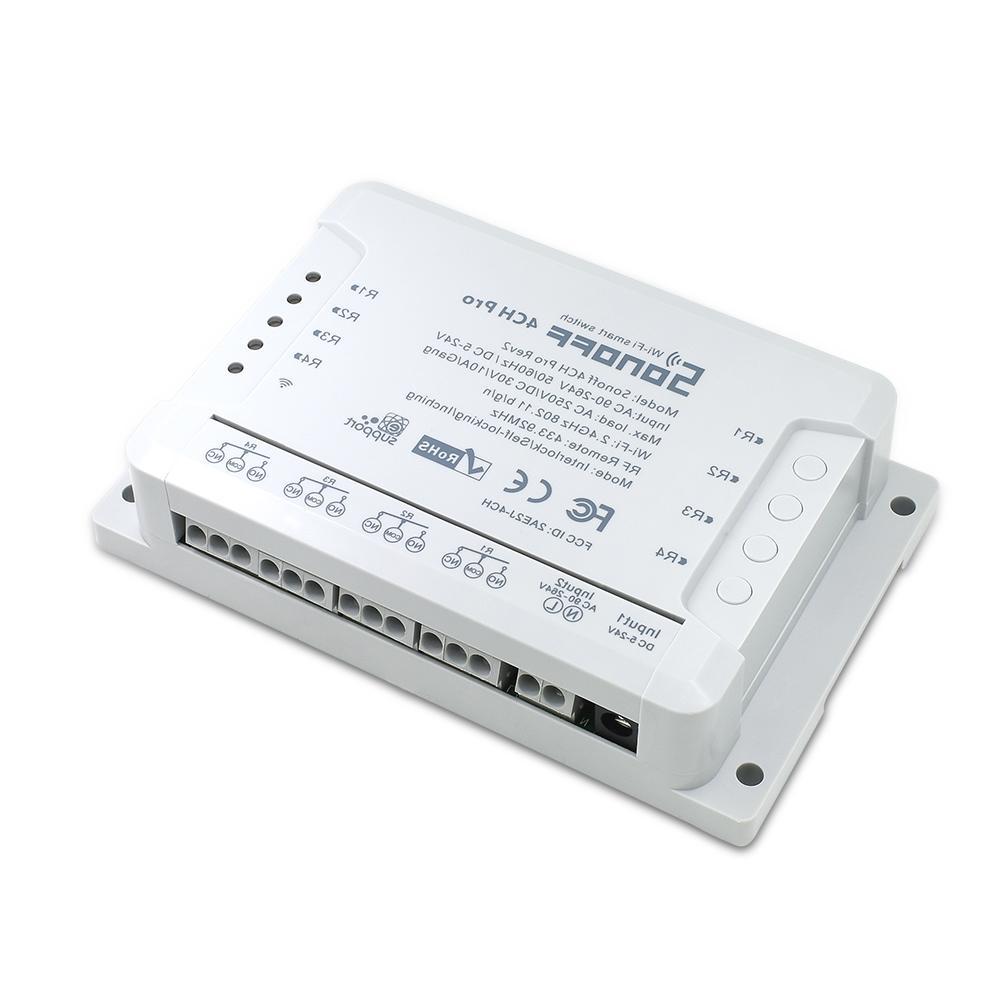 ITEAD SONOFF R2 Way Din Rail Mount <font><b>On</b></font>/<font><b>off</b></font> Wireless <font><b>Automation</b></font> Control 433Mhz