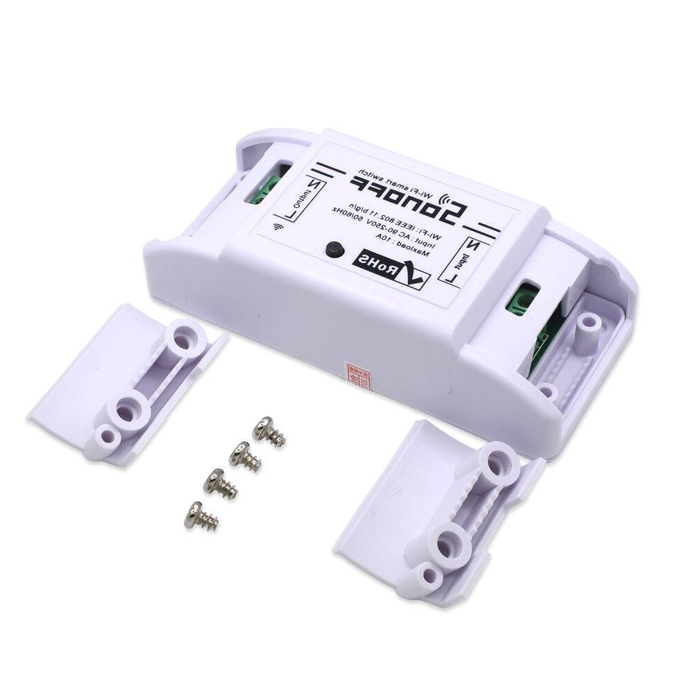 Itead Switch Wireless Domotica Smart <font><b>Automation</b></font> Relay Work Alexa