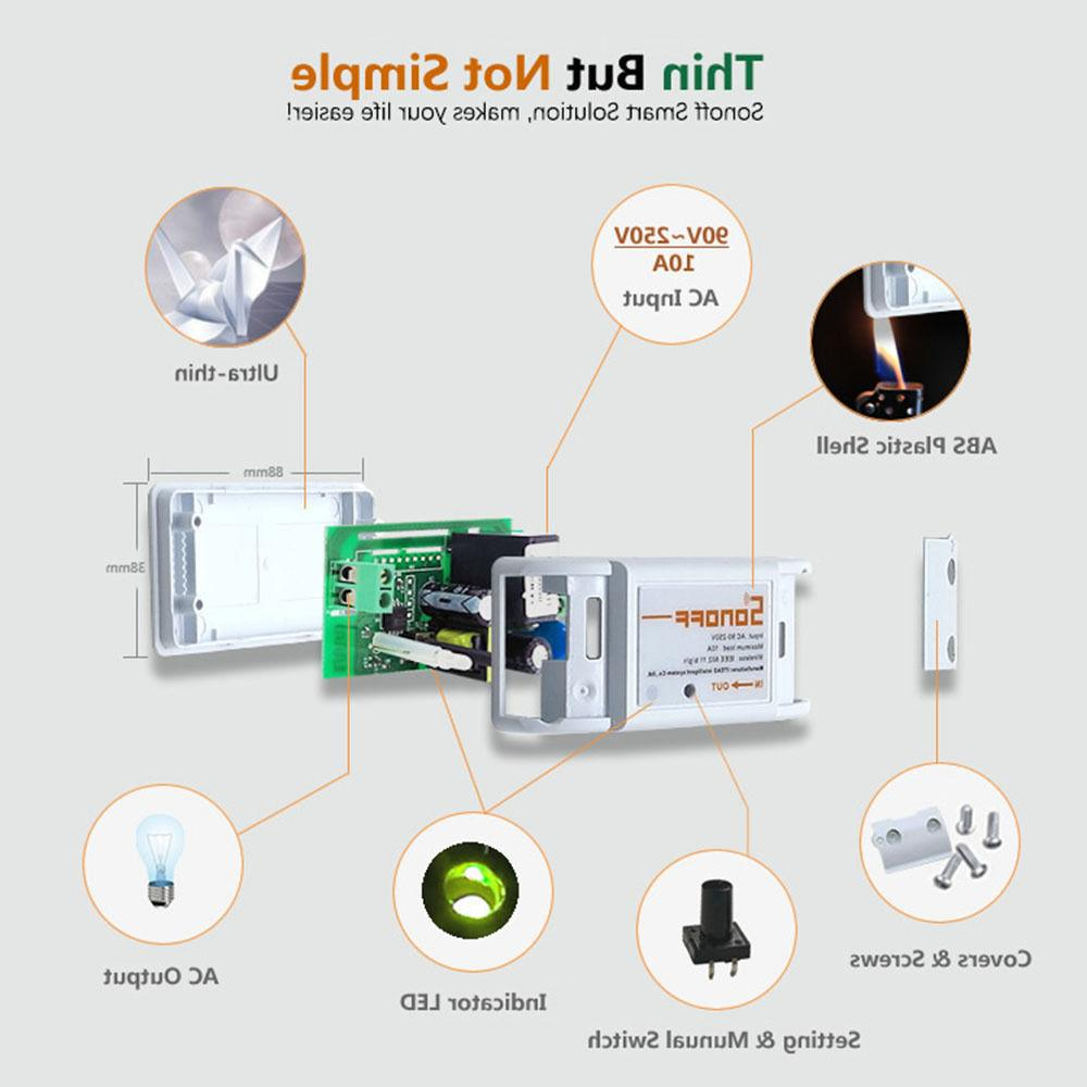 Sonoff ITEAD WiFi Wireless Module Fr Apple Control