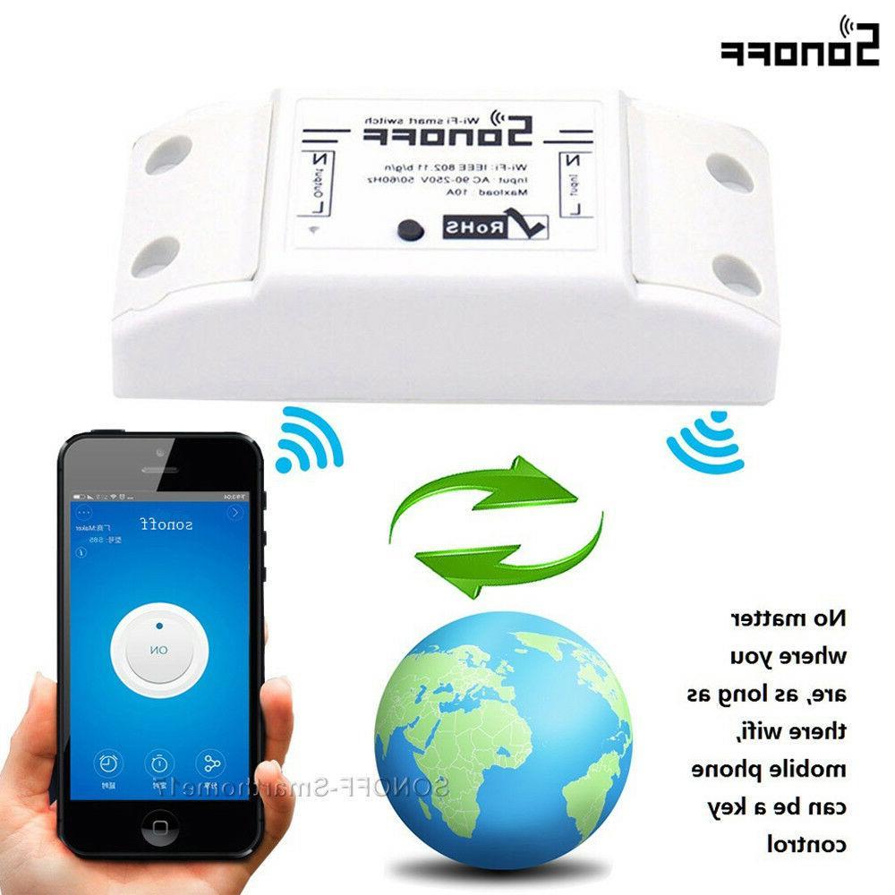 Sonoff WiFi Wireless Fr Control
