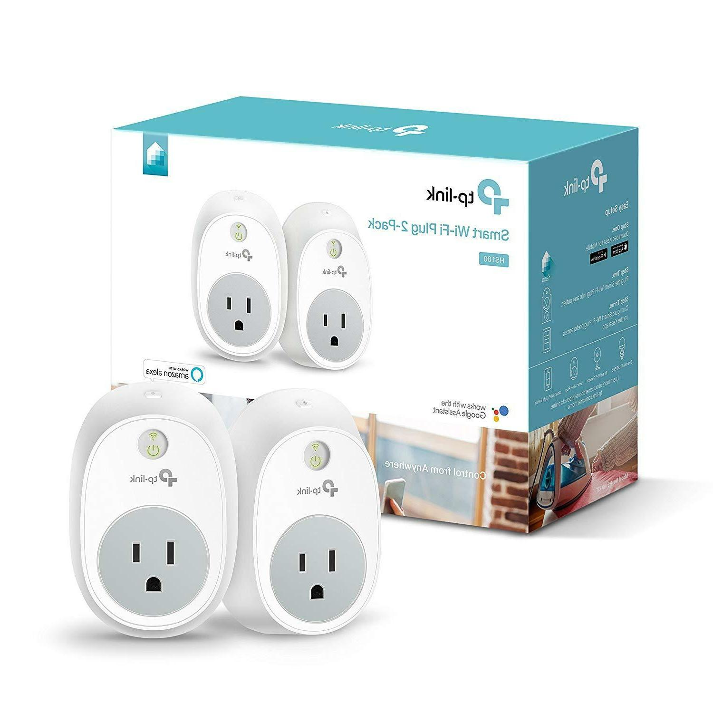Plug Outlet Wi-Fi Devices w/ Alexa