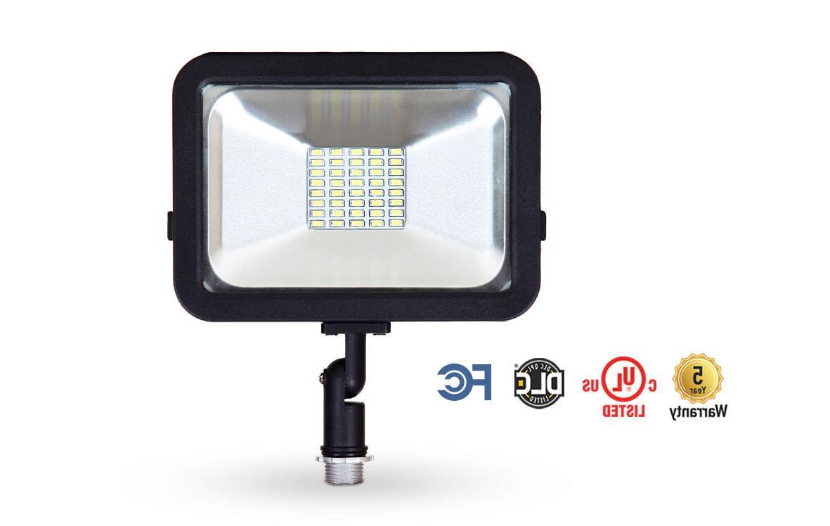 LLT LED Floodlight with Knuckle Super SMD Landscape Secur