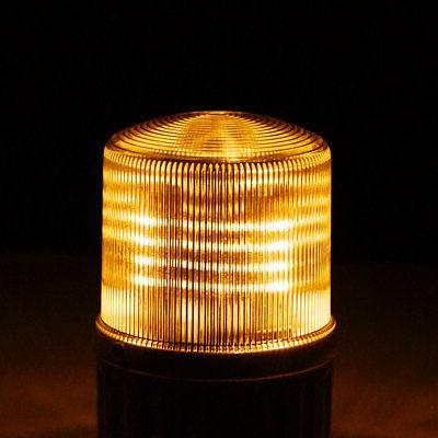 LED Warning Light Bright Alarm 90dB Yellow TB-1081