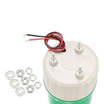 uxcell LED Warning Light Bulb Bright Alarm Lamp AC110V New