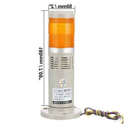 Bright Signal Alarm Yellow