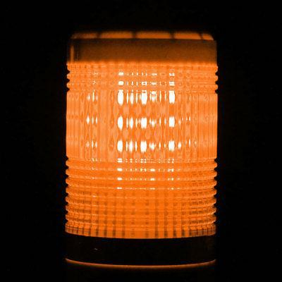 LED Bright Signal Lamp Buzzer Yellow