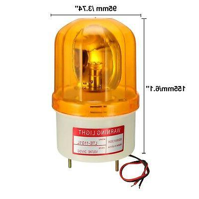 uxcell Warning Light Bulb Rotating Industrial