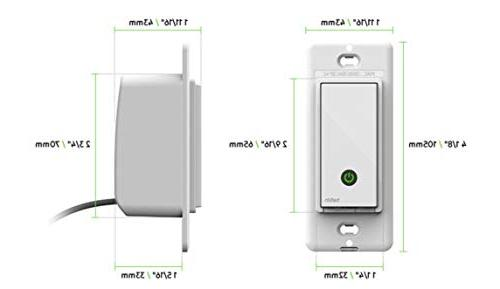 Wemo Light Switch, WiFi enabled, Works with and
