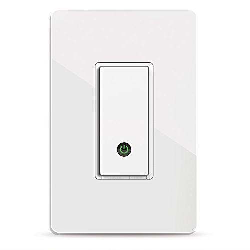 WeMo F7C030-BDL in-Wall Smart Switch, No 2-Pack