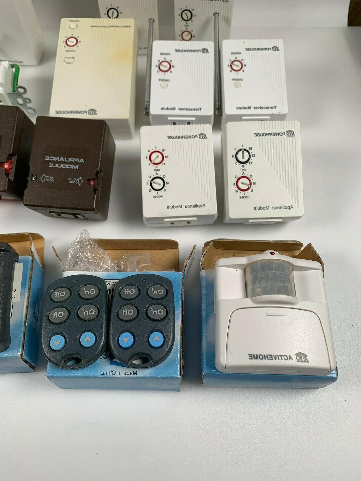 Lot of Automation Controller Remote