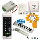 600lbs Magnetic Door Lock Kit ID Card Access Control Reader