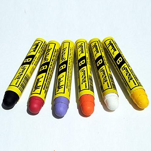 Markal Paint Marker of 6 Vibrant Colors