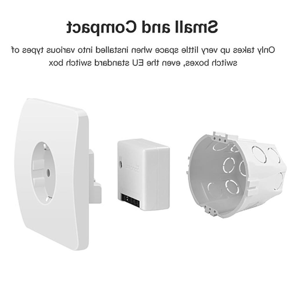SONOFF Smart Control DIY External Switch 10A work Google <font><b>Home</b></font>