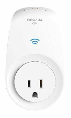 Ankuoo NEO Wi-Fi Outlet Switch White