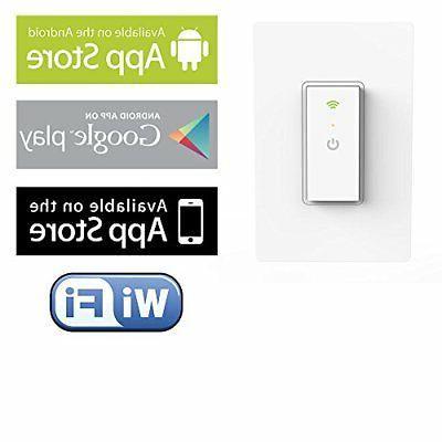 Ankuoo NEO Smart Light Switch - Lighting from Anywhere White