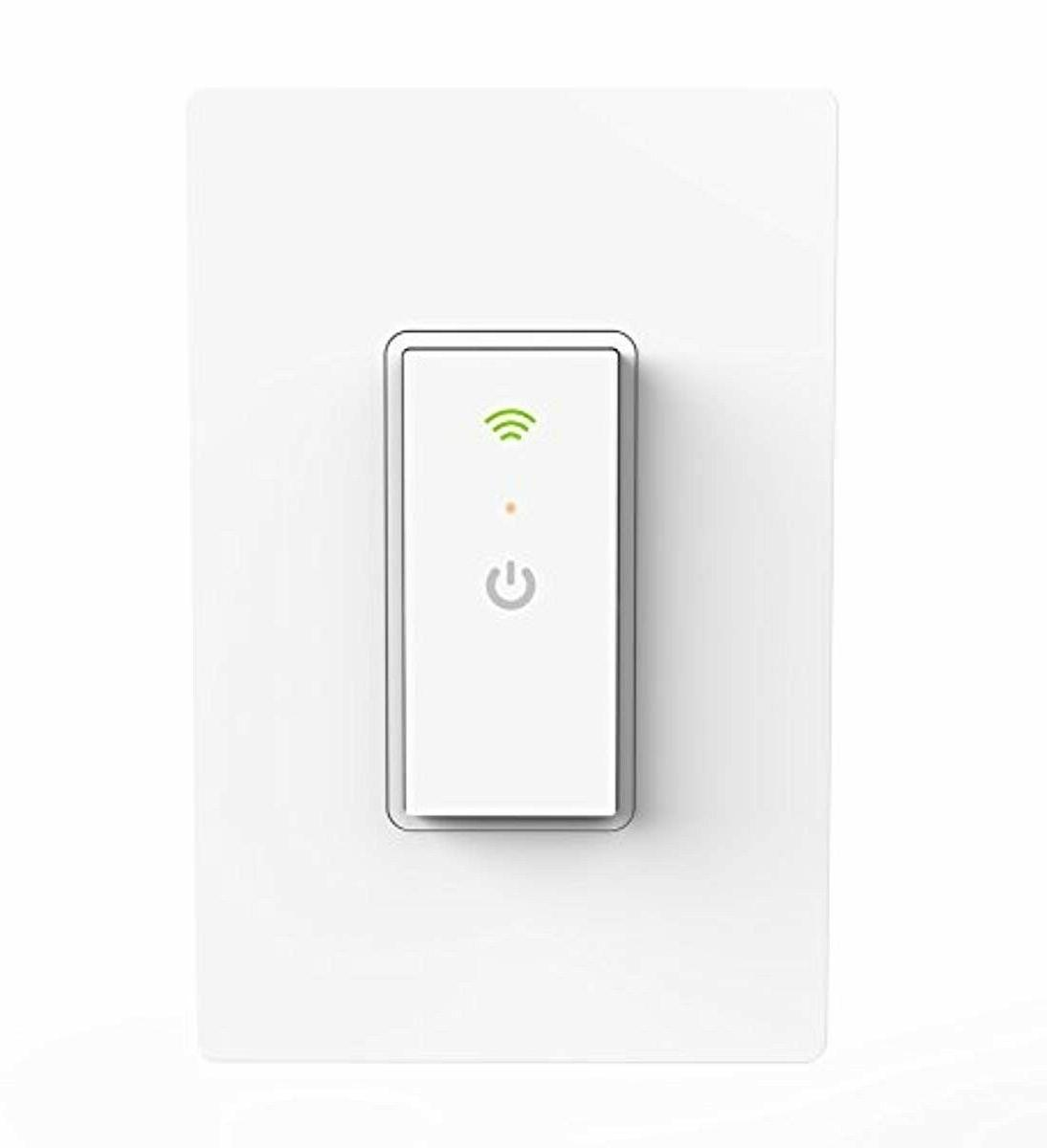 neo wi fi light switch not plug
