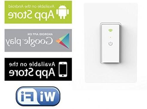 neo wi fi light switch with home