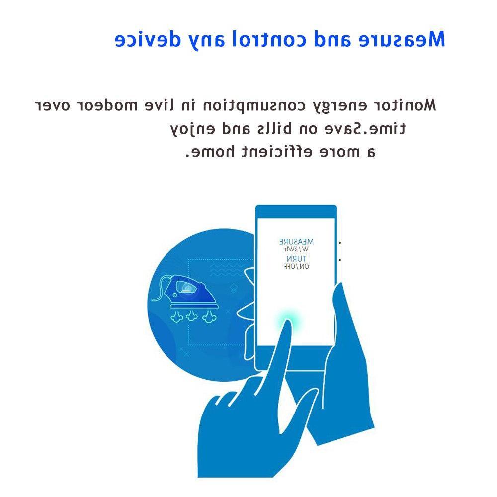 NEO PLUS NAS-WR01ZE EU Smart Power Plug Alarm Wave 868.4MHz Video Frequency
