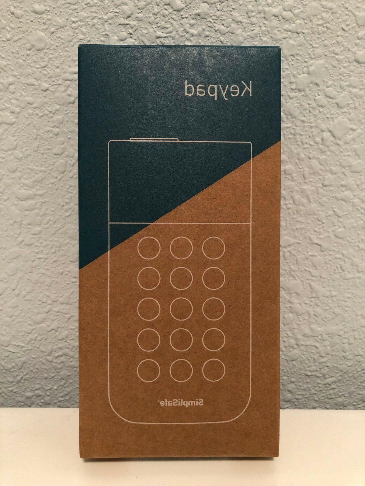 NEW Simplisafe Keypad New in