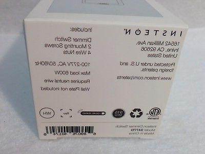 NEW 6 Insteon SwitchLinc Dimmer Switches, - In Box