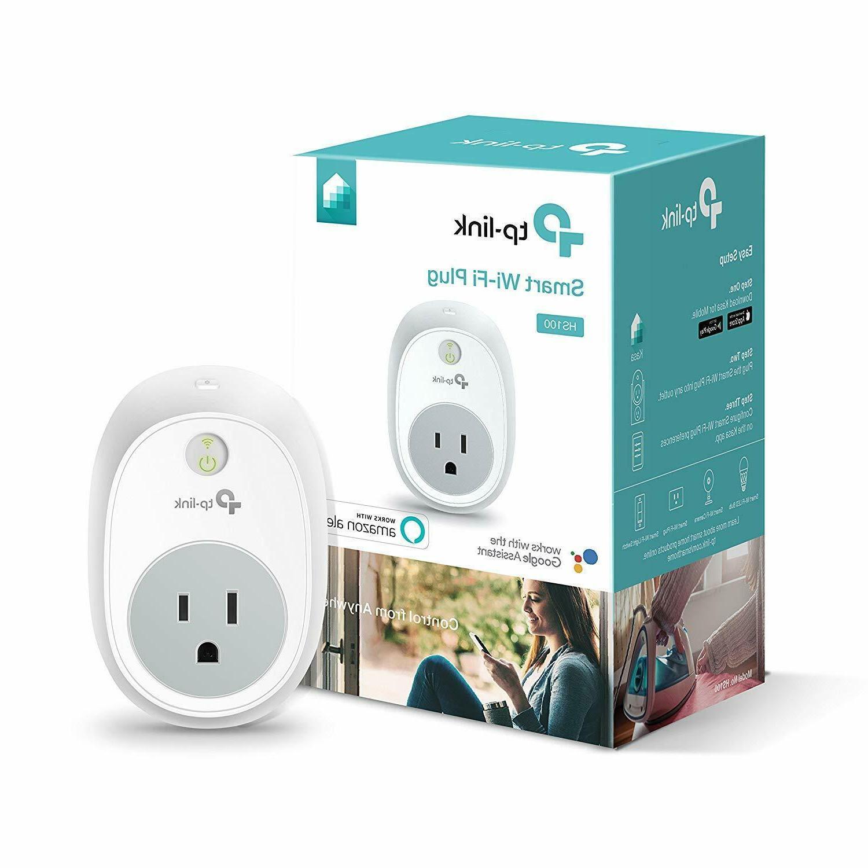 Kasa Smart WiFi Plug by TP-Link – Smart Plug, No Hub Requi