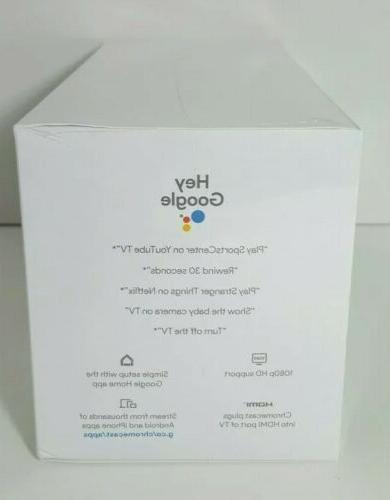 NEW Google Smart TV Kit Google Home Mini