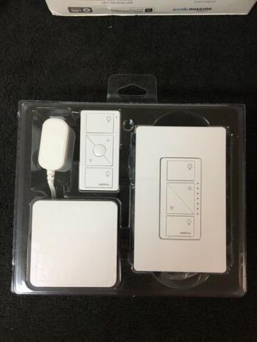 Lutron P-BDG-PKG1W Wireless Dimmer Kit Bridge,