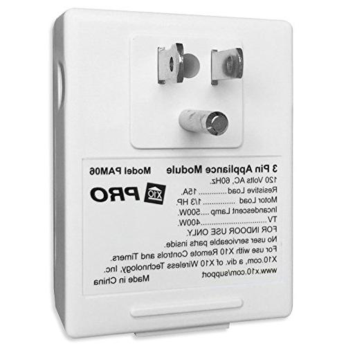 X10 PAM06 Appliance 3-Prong with