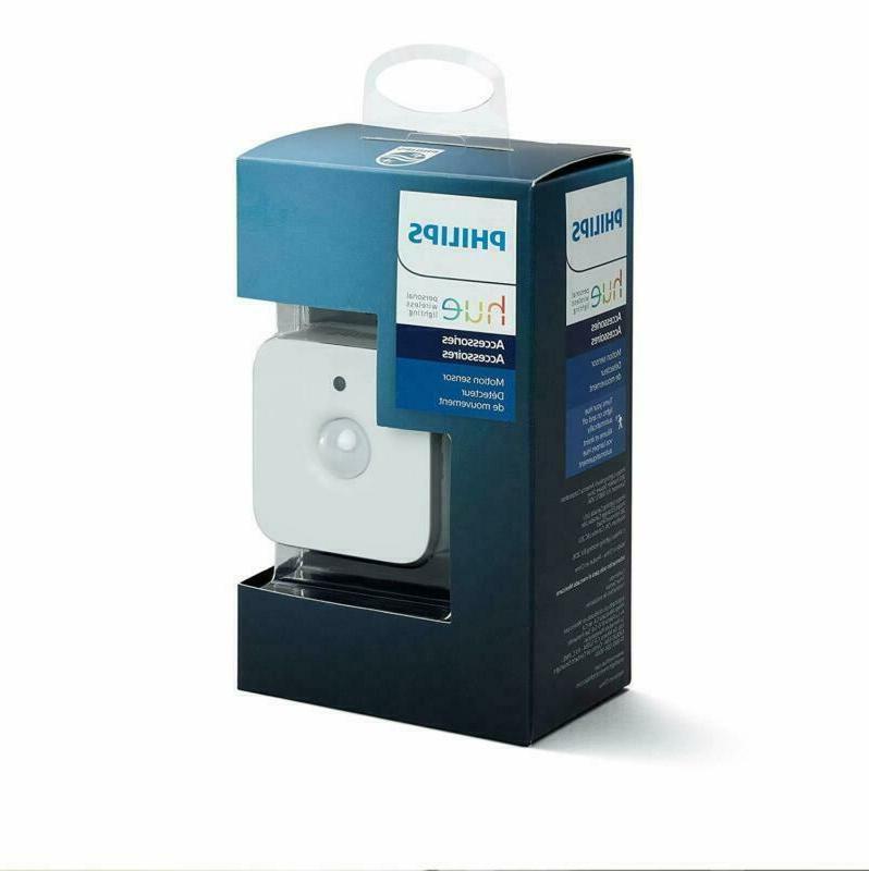 Philips Hue Motion Sensor For Smart Lights (Requires Hue Hub